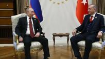 Erdoğan ile Putin Suriye'yi görüştü