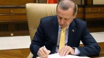 Erdoğan imzaladı: Atama kararları Resmi Gazete'de