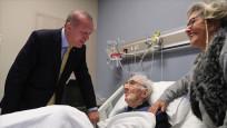 Cumhurbaşkanı Erdoğan'dan ünlü bestekâra hastanede ziyaret