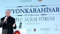 Erdoğan Afyonkarahisar'da halka hitap etti