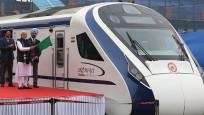 Hindistan'ın ilk hızlı treni ilk gününde bozuldu
