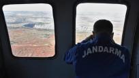 Jandarma havadan ceza yağdırdı