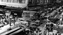 Dünyanın farklı şehirlerinde bir zamanlar trafik
