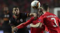 Galatasaray, Benfica'yla golsüz berabere kaldı
