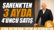 Şahenk'ten 3 ayda 4'üncü satış: Atina Hilton'daki payını da devrediyor