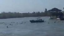 Dicle Nehri'nde feribot battı: 40 Kişi hayatını kaybetti