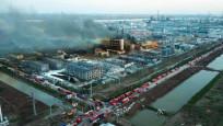 Kimya fabrikasındaki patlamada ölü sayısı 64'e yükseldi