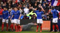 Fransa, İzlanda'yı 4-0 ile geçti