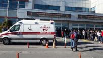 Havalimanında silah sesleri: 2 polis yaralı