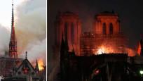 Dünya şokta! Tarihi Notre Dame Katedrali kül oldu