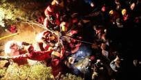İznik'te 7 defineci mağarada mahsur kaldı