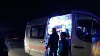 Bursaspor taraftarları İstanbul dönüşü kaza geçirdi