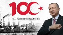 Erdoğan 100. yıl logosunu belirledi