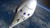 SpaceX'in roketi patladı