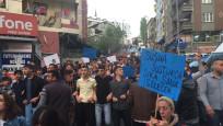 Küçükçekmece'de çocuğa cinsel istismar protesto edildi