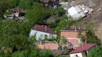 Ordu'da heyelanda 15 ev yıkıldı!