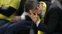 Ali Koç'un Dörtlü Final'de yıkıldığı an