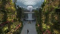 Botanik parkını andıran havalimanı