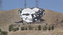 Uzaydan görülen Atatürk portresi