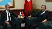 Bakan Hulusi Akar, Rus mevkidaşı Şoygu ile görüştü