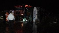 Yozgat'ta otobüs devrildi: Çok sayıda yaralı var