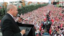 Erdoğan Sancaktepe'de halka hitap etti