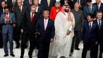 G-20 zirvesinde liderler geçidi