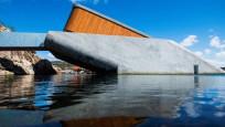 Avrupa'nın ilk sualtı restoranı Norveç'te açıldı