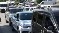 İstanbullular dikkat orada trafik kilitlendi
