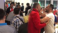 İstanbul Havalimanı'nda gergin anlar