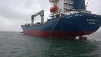 Nijerya'da saldırıya uğrayan Türk gemisi Gana'ya ulaştı