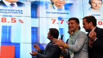 Ukrayna'da Zelensky'nin partisi önde
