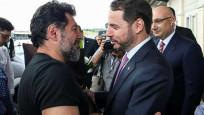 Hakan Atilla'yı Bakan Berat Albayrak karşıladı