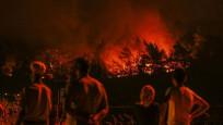 İzmir'deki yangın yerleşim yerlerinden uzaklaştırıldı