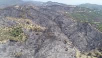 İşte Karabağlar'daki yangından geriye kalan