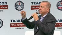 Cumhurbaşkanı Erdoğan Trabzon'da müjdeyi verdi: Kararnameyi imzaladım