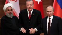 Erdoğan, Putin ve Ruhani üçlü zirvede buluşuyor