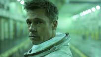 Brad Pitt, uzaydaki astronot ile röportaj yaptı