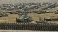 Rus ordusundan 128 bin askerle dev tatbikat