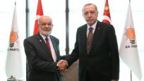 Erdoğan ile Karamollaoğlu neler konuştu?