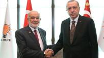 Karamollaoğlu, Erdoğan'la neler görüştüğünü açıkladı