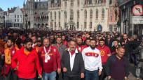 Belçika'da 22 Türk taraftar göz altına alındı