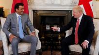 Johnson, Katar Emiri ile görüştü