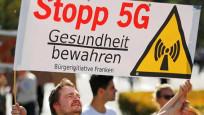 İsviçrelilerden 5g protestosu