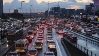 İstanbul'da 'tatil' trafiği