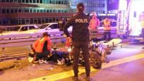 Metrobüs yolunda feci kaza! Motosiklet sürücüsü kurtarılamadı