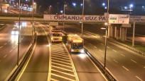 İstanbul'da kar nöbeti