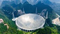 30 futbol sahası büyüklüğündeki Çin'in dev teleskobu resmen faaliyete geçti