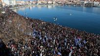 Yunanistan'da göçmen krizi: Hükümete büyük protesto