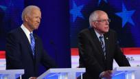 Demokratların aday yarışında Biden Sanders'in gerisinde kaldı